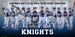 Banner - 2019 Knights Baseball Team