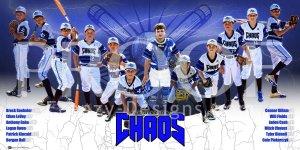 Print - Julington Creek Chaos Baseball Team