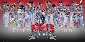 Print - Falls All Stars Baseball Team