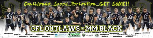 Print - 2017 Outlaws - MM Black Football Team