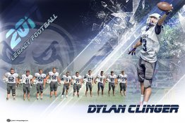 Banner - Legacy High School Football - Dylan Clinger