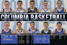Schedule - Columbia High School 2017-18 Basketball Schedule