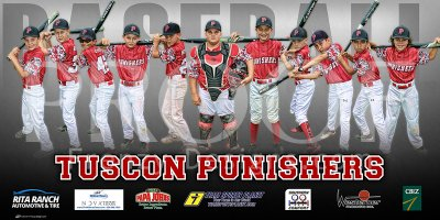 Digital - 2017 Tucson Punishers Baseball Team - Update