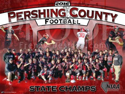 Posters - 2020 Pershing County Football Player