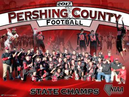 Posters - 2017-18 Pershing County Football Player