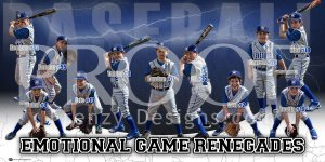 Banner - 2018 EG Renegades Baseball Team