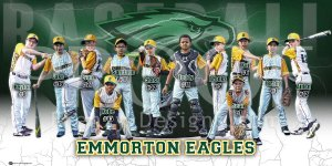Print - Emmorton Eagles Baseball Team