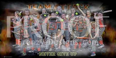 Banner -  2018 Team Attack 14U Softball Team