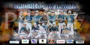 Print - Crushers Baseball Team