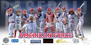 Print - American Force Baseball Team