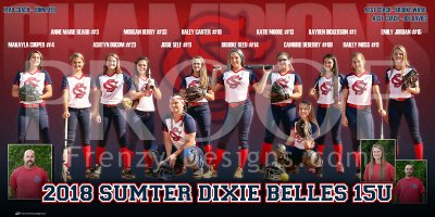 Digital - Softball - Sumter Dixie Belles 15U