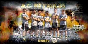 Banner - 2018-19 A.C. Reynolds Soccer Seniors