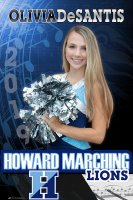 Banner - 2019 Senior Band Member - Howard High School