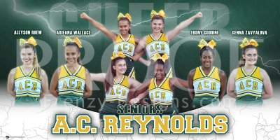 Banner - 2018-19 A.C. Reynolds Cheer Seniors - Replacement
