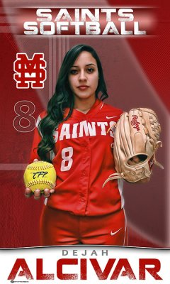 Banner -  Santa Maria High School - 2019 Softball Seniors