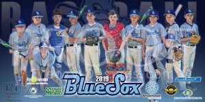Print - Brookhaven Blue Sox Baseball Team