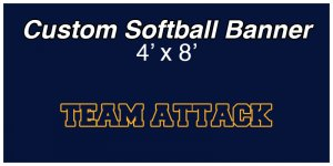 Banner - 2019 Team Attack Softball Team