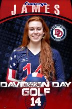 Banner -  Davidson Day School - Replacement Volleyball Banner