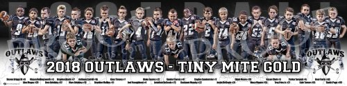 Posters - 2019 Creeks 8U Outlaws Football Team