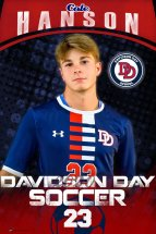 Banner -  Davidson Day School - Replacement Soccer Banner