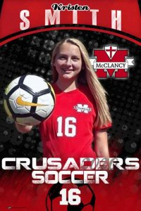 Banner -  McClancy High School - Replacement Soccer Banners