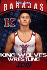 Banner - 2019-20 King High School Wrestling