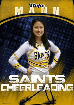 Banner - 2019-20 Central Christian Saints Cheer Seniors