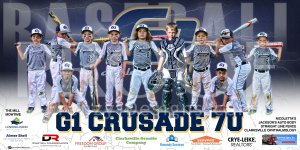 Banner - G1 Crusade Baseball Team - Replacement