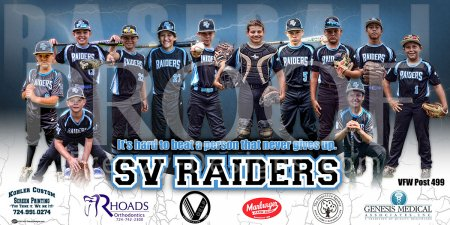Print - SV Raiders Baseball Team