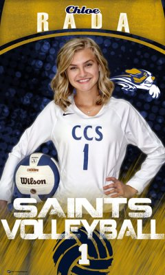 Banner - 2020 Central Christian Saints Volleyball Seniors