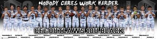 Print -2020 Creeks Outlaws 10U Football Team