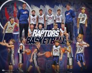 Print - Raptors Basketball Collage