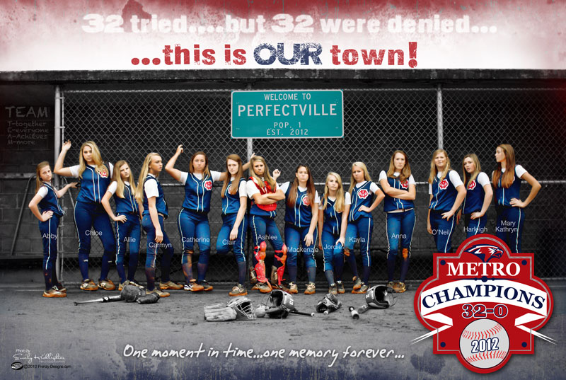 Softball team pictures ideas