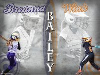 Print - Sister Softball Collage