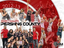 Collage - Pershing County Basketball