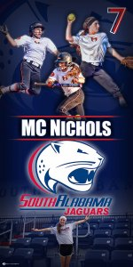 Banner - MC Nichols - Hoover Bucs & South Alabama Jaguar