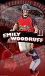 Banner - Custom Softball - Emily Woodruff - JSU