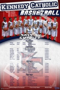 Schedule - Kennedy Catholic 2013-14 Basketball Schedule