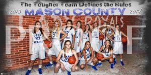 Banner - Mason County Lady Royals 2013-14