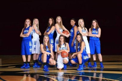 Banner - Decatur Lady Eagles Basketball Team
