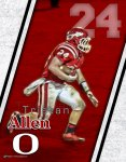 Print - Tristan Allen - Ohatchee Football