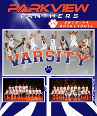 Digital - Basketball - Parkview High School Posters - Final