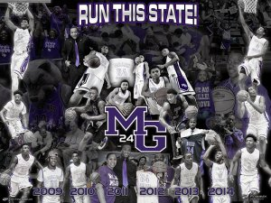 Digital - Basketball - Miller Grove High School Team Collage