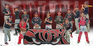 Banner - 2014 Arkansas Aces Baseball Team