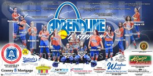 Banner - Adrenaline Fastpitch Softball Final