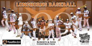Print - 2014 Starkville Longhorns Baseball Team