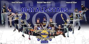 Print - 2014 Mason District 10-11 All Star Baseball Team
