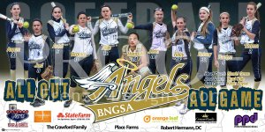 Print - BNGSA Angels 00 Softball Team