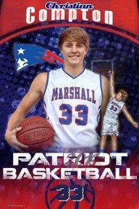 Banner - 2014-15 Marshall Academy Senior Basketball Players
