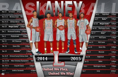 Schedule - Lucy C. Laney High School 2014-15 Basketball Schedule - Final
